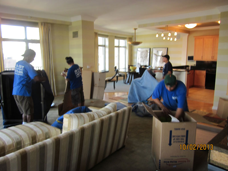 wrapping a Living Room